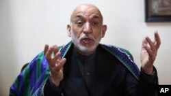 "Former Afghan President Hamid Karzai criticizes that the new U.S. strategy for Afghanistan does not bring ""a message of peace."""