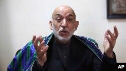 کرزی گفت، افغانستان نمیخواهد که به نقطۀ تقابل قدرتها مبدل گردد