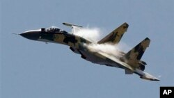 Российский истребитель Су-35 (архивное фото)