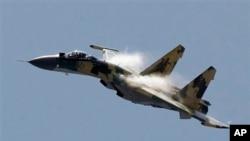 Aviões militares russos