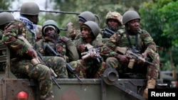 Picha ya Maktaba: Wanajeshi wa Kenya wakati wa tukio la Westgate