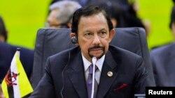 Quốc vương Brunei Hassanal Bolkiah.
