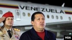 Presiden Venezuela Hugo Chavez (foto: dok) memerintahkan pengambilalihan tanah swasta untuk menampung ribuan orang yang kehilangan tempat tinggal akibat banjir.