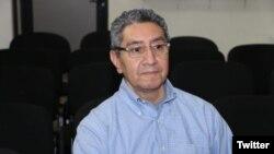 René Mario Figueroa, exministro de Seguridad de El Salvador, durante el gobierno del expresidente Tony Saca (2004 a 2009), está acusado de enriquecimiento ilícito. Foto: Twitter Fiscalía General de la República El Salvador. Fecha indeterminada.