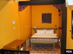 民宿的卧室