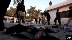 د پاکستان مومندو کې ځانمرگو ۴٠ تنه ووژل