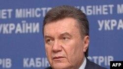 Tổng thống Ukraina Viktor Yanukovych.