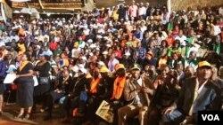 Wajumbe wa upinzani kwenye mkutano wa CORD Nairobi, Kenya