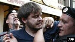 რუსეთში ანტისამთავრობო აქციის მონაწილეები დააკავეს