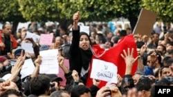 Người biểu tình diễu hành tới trụ sở RCD