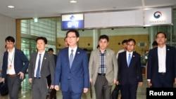 韩国官员启程前往朝鲜,启动联合联络办公室。