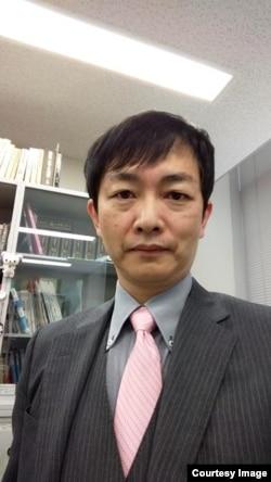日本防卫省防卫研究所区域研究部部长门间理良(照片提供: 门间理良 )