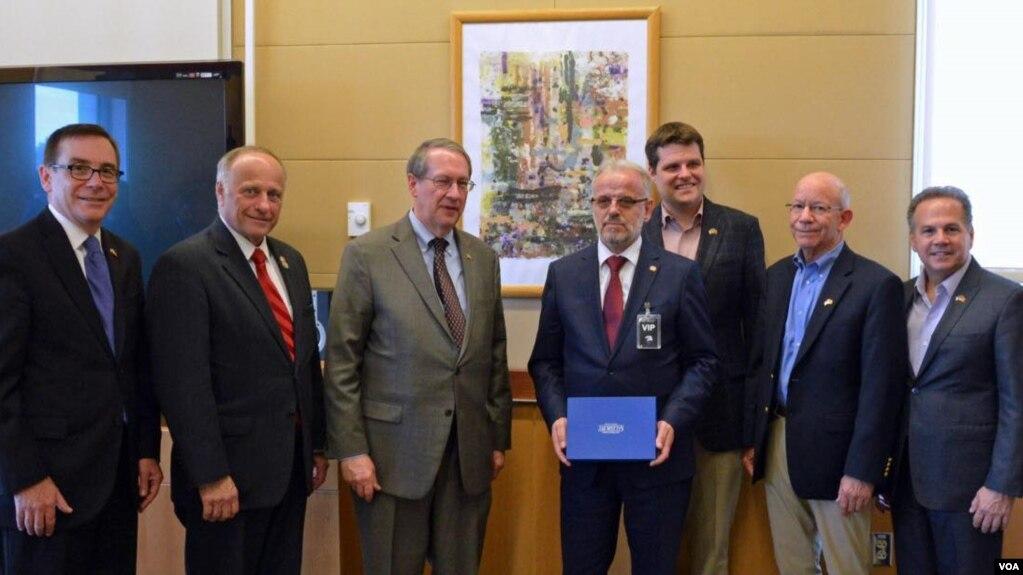 Delegacioni i Kongresit amerikan viziton Maqedoninë, Shqipërinë