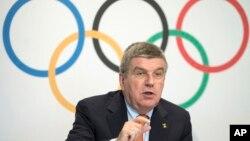 Chủ tịch Ủy ban Olympic Quốc tế (IOC) Thomas Bach.