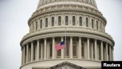 Zgrada američkog Kapitola, petog, poslednjeg dana suđenja za opoziv bivšem predsedniku Donaldu Trampu.