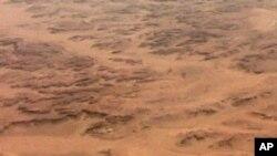 بلوچستان کا ایک فضائی منظر