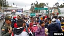 De los poco más de 4,6 millones de venezolanos que la OEA calcula que han salido de su país en los últimos años, al menos 350 mil están en Ecuador.