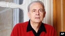 2014 노벨문학상 수상한 프랑스 소설가 파트리크 모디아노 (자료사진)