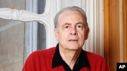 French novelist Patrick Modiano is seen in an undated photo provided by publisher Gallimard.