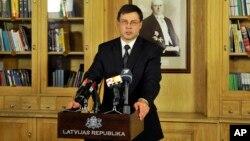 Премьер-министр Латвии Валдис Домбровскис