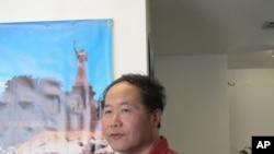 雕塑艺术家陈维明要控告马英九政府