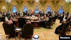 تصویری آرشیوی از یکی از نشست های پیشین شورای همکاری خلیج فارس.