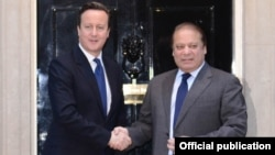 پاکستان اور برطانیہ کے وزرائے اعظم