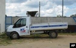 Viatura da empresa HT Investimentos e Participaçoes, no Huambo, uma das afectadas pelas rescisões contratuais