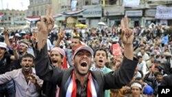 敘利亞示威者反對阿薩德。