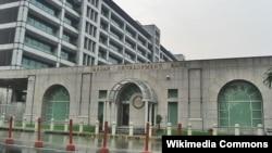 位于菲律宾曼达卢永市的亚洲开发银行总部