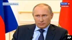 普京说,被推翻的亚努科维奇总统仍然是乌克兰合法领导人