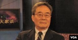 劳改基金会创始人吴弘达接受美国之音采访。(资料照)