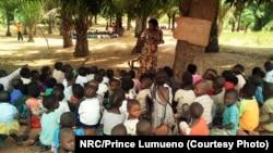 Abana bateshejwe izabo mu ntara ya Tanganyika, mu buseruko bwa RDC