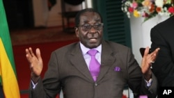 President Robert Mugabe's party has the parliamentary majority to amend the constitution.