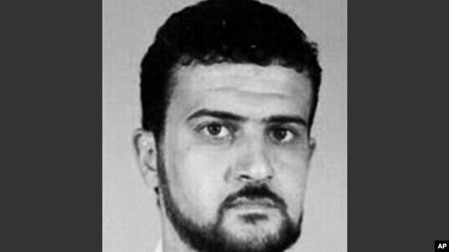 FILE - This image from the FBI website shows Anas al-Libi, an al-Qaida leader connected to the 1998 embassy bombings in eastern Africa and wanted by the United States for more than a decade.
