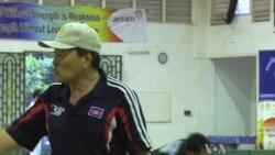 Korean Coaches Train Cambodian Athletes