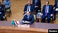 Le président égyptien Abdel Fattah al-Sisi.