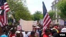 Hiriira Mormii Washington DC keessatti Lammiiwwan Oromoon geggeessame