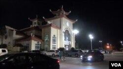 Giáo xứ Đức Mẹ La Vang ở Houston, Mỹ. Ảnh: G. Flakus/VOA.