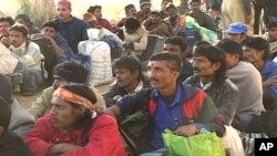 رہائی پانے والے بھارتی ماہی گیر