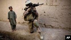 Pripadnik koalicionih snaga u Avganistanu