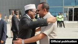 Mohamed Abdalla Farmajo and Abiy Ahmed
