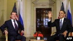 Архив: Дмитрий Медведев и Барак Обама