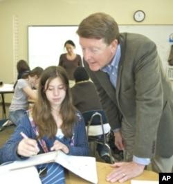 Principal Paul Chapman believes the green mission at Head-Royce helps students build leadership skills.