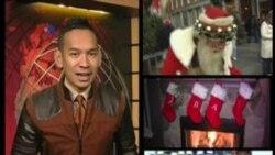 Mudik dan Bertukar Hadiah Natal oleh Warga AS
