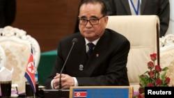 Ông Ri đang có mặt tại New York để tham dự Đại Hội Đồng Liên hiệp quốc lần thứ 69.