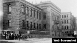 Bakı Qızlar Liseyinin binası