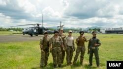 美国与菲律宾空军人员2018年5月16日参加肩并肩联演(美国空军照片)