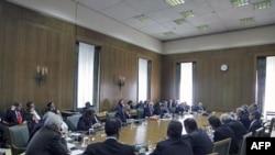 Yunan hükümetinin olağanüstü toplantısı