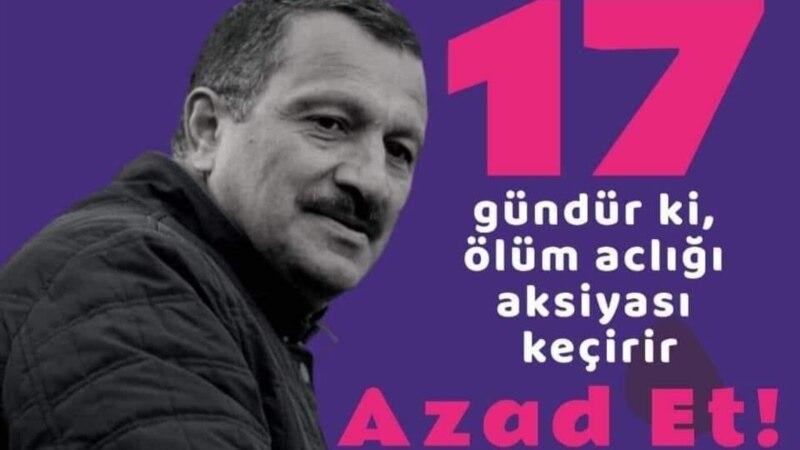 Zeynəb Xanlarova: Tofiq Yaqublunu mərd Azərbaycan kişisi kimi tanıyıram – aclığın 17-ci günü